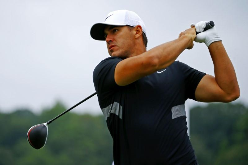 Golf: Koepka leads by one after 54 holes in race for $15 million