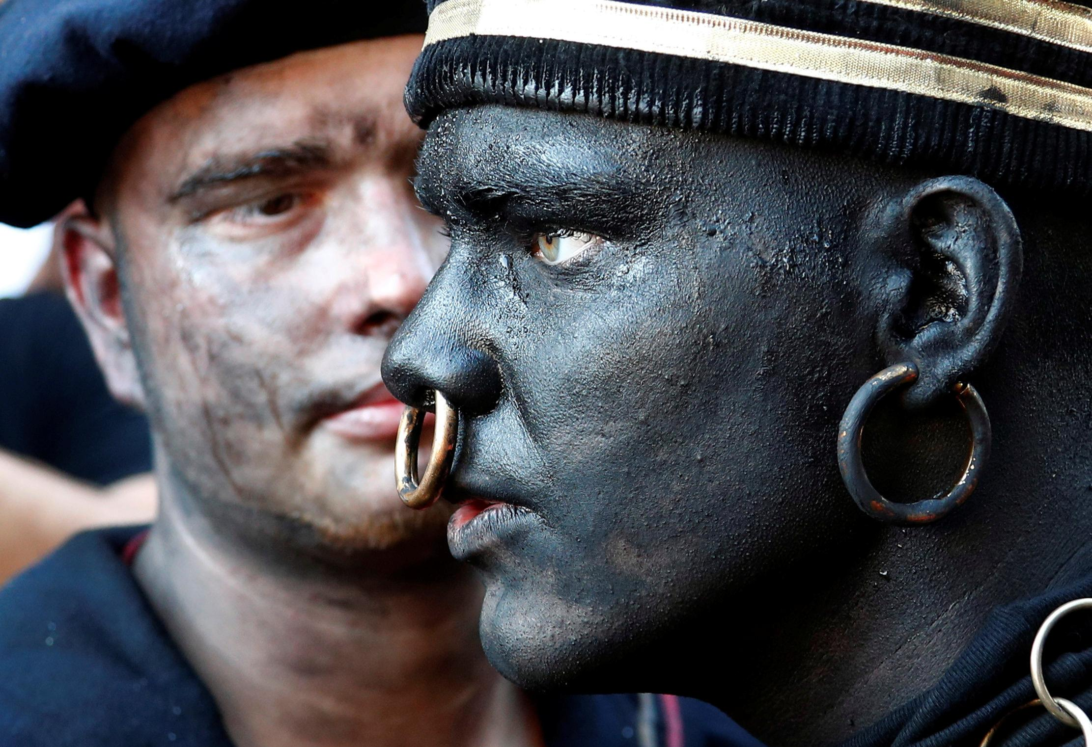 Belgian festival draws criticism over blackface 'Savage' character