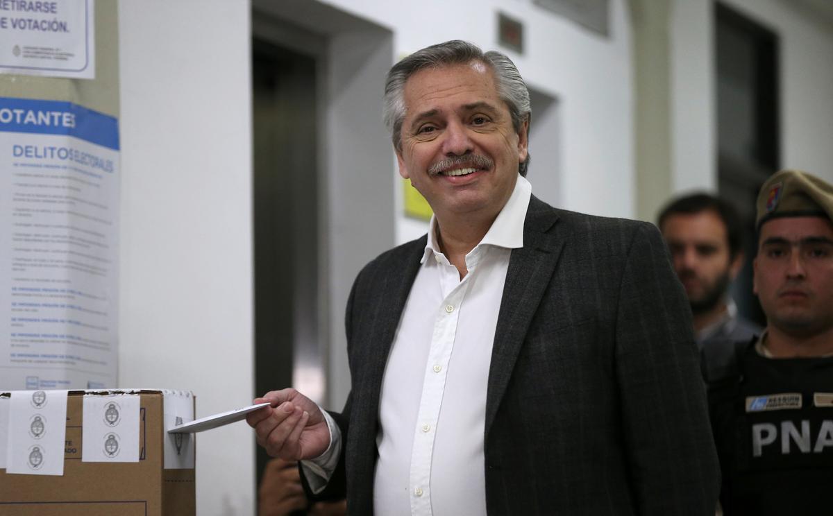 Die IMF vergader met die opposisie-kandidaat van Argentinië