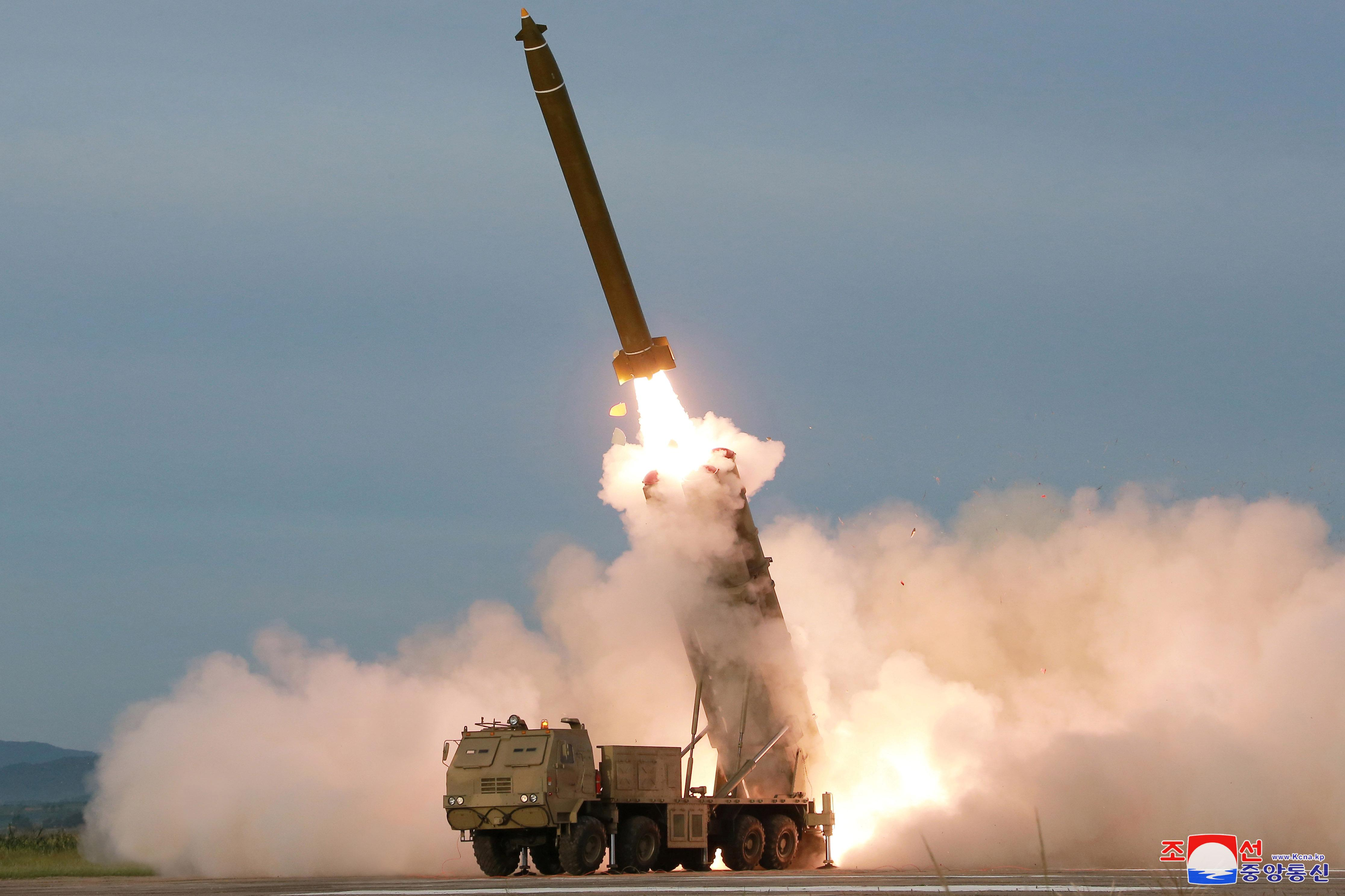 Japan says North Korea developing warheads to penetrate missile defenses