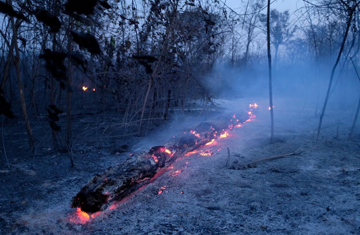 Reën sal die brande van Amazon nie vir weke blus nie, sê weerkenners