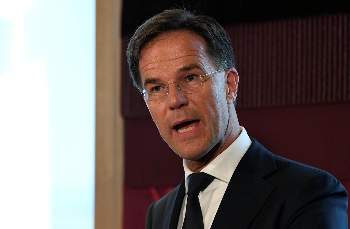 Nederlandse premier Rutte sê Johnson EU bly oop vir 'konkrete voorstelle'