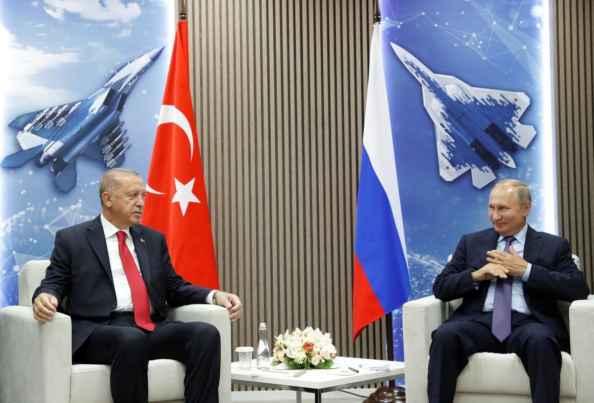 Erdogan sê Turkye wil die samewerking met Rusland met die verdediging voortsit