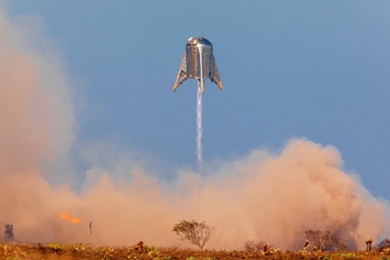 MarsX-vuurpylprototipe van SpaceX rammel die inwoners van die omgewing in Texas se vlugtoets