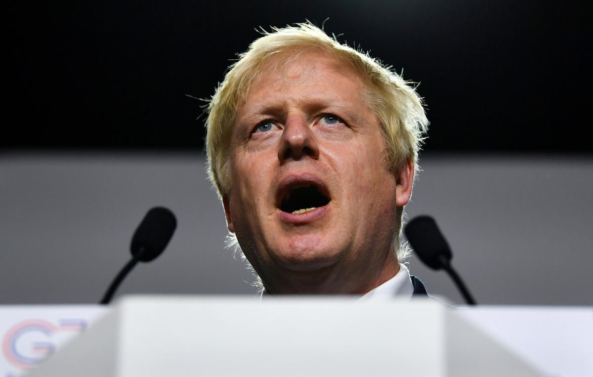Britse premier, Johnson, se parlementsopskorting beplan 'n 'grondwetlike verontwaardiging': speaker