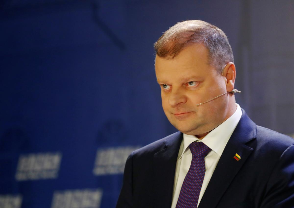 Litausse premier, wat vir limfoom behandel word, sal aanhou werk