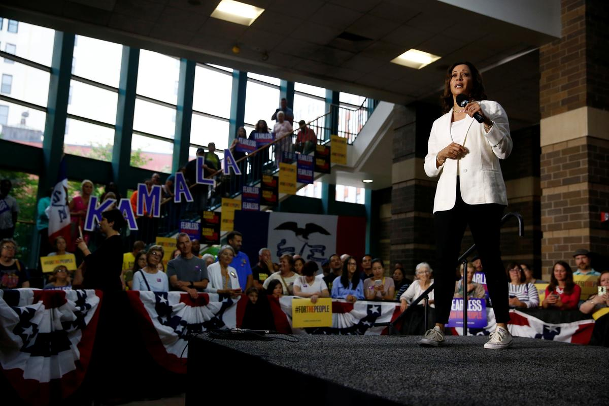 Presidential hopeful Harris' climate plan to draw on her experience suing polluters: sources
