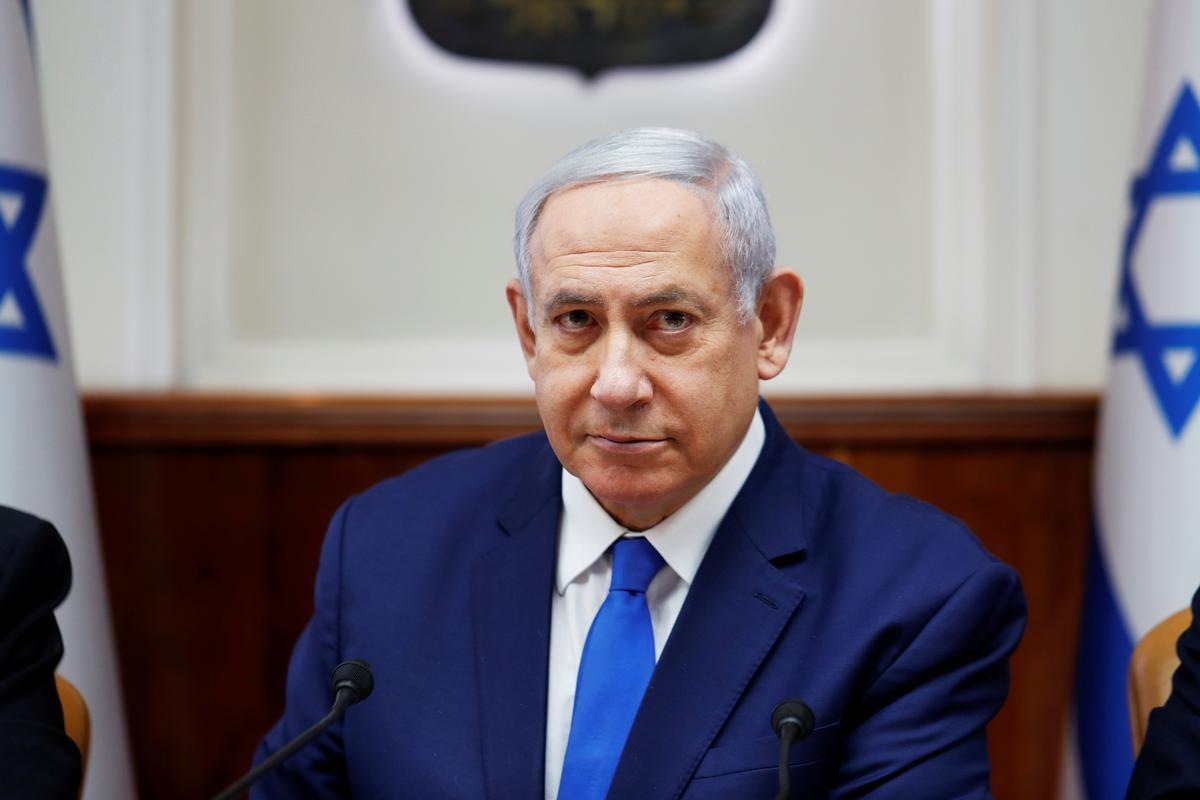 Netanyahu sê hy verwag die Amerikaanse vredesplan 'baie gou' na die verkiesing van 17 September