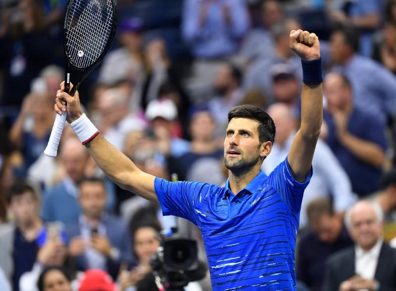 Tennis: Djokovic survives injury scare to advance at U.S. Open