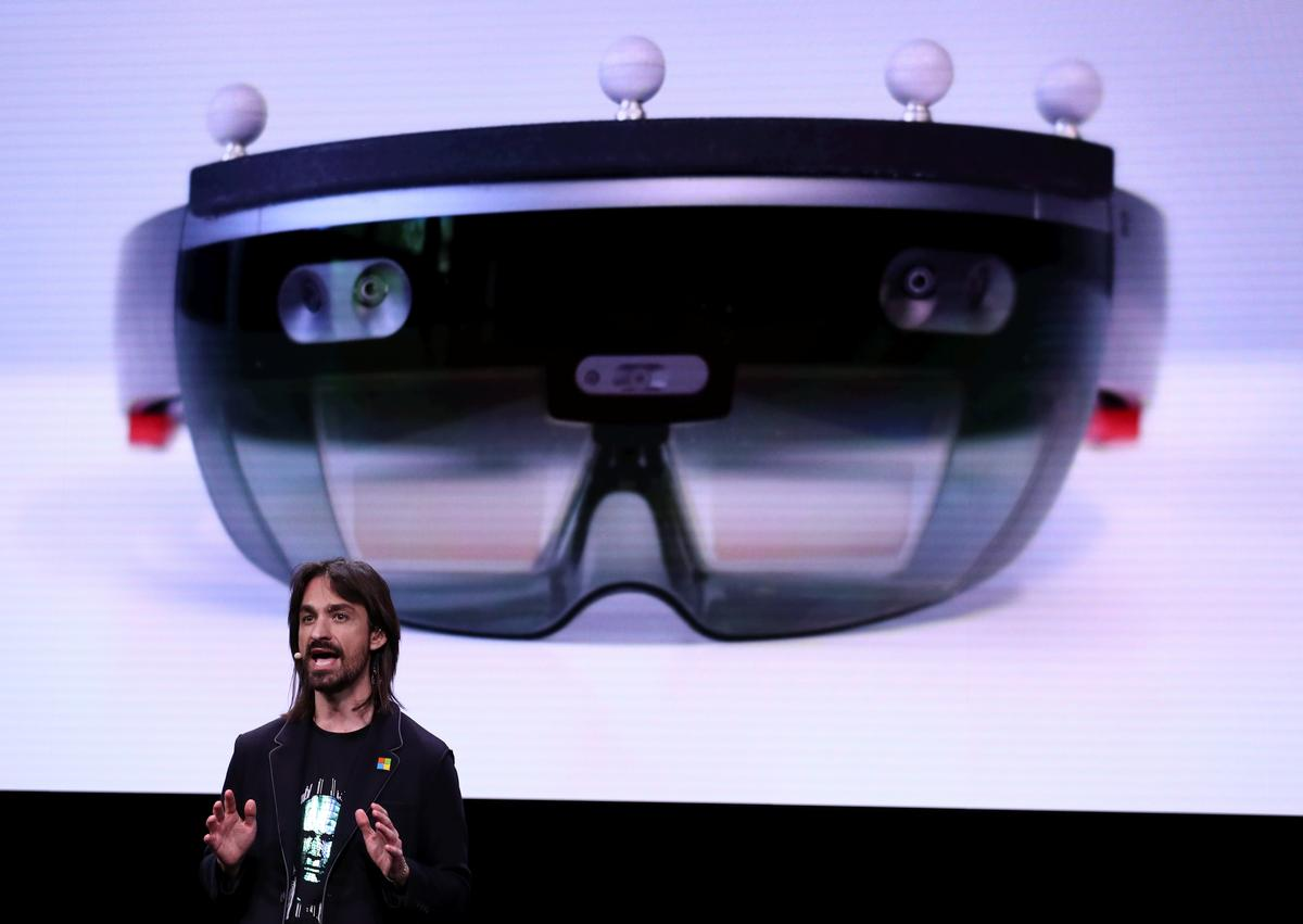 Microsoft says new augmented reality headset to go on sale in...
