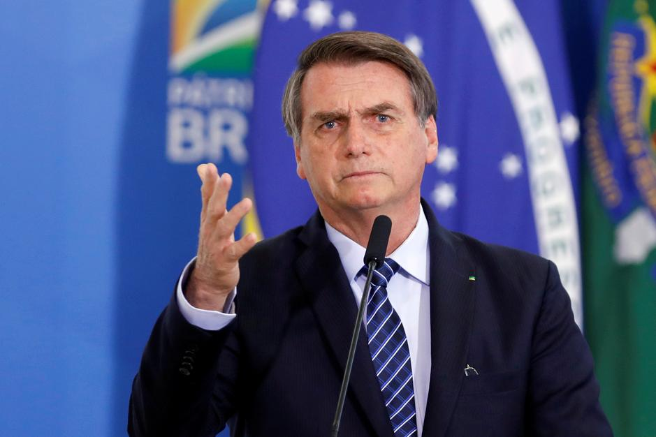 Image result for Amazon fires scorch Bolsonaro's reputation abroad, but not in Brazil