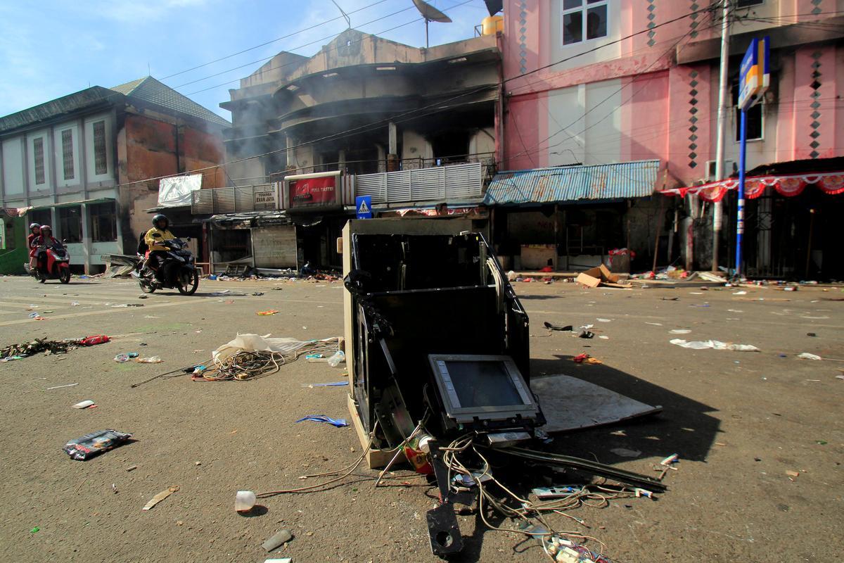 Gewelddadige protesoptogte in die hoofstad van Indonesië se Papoea