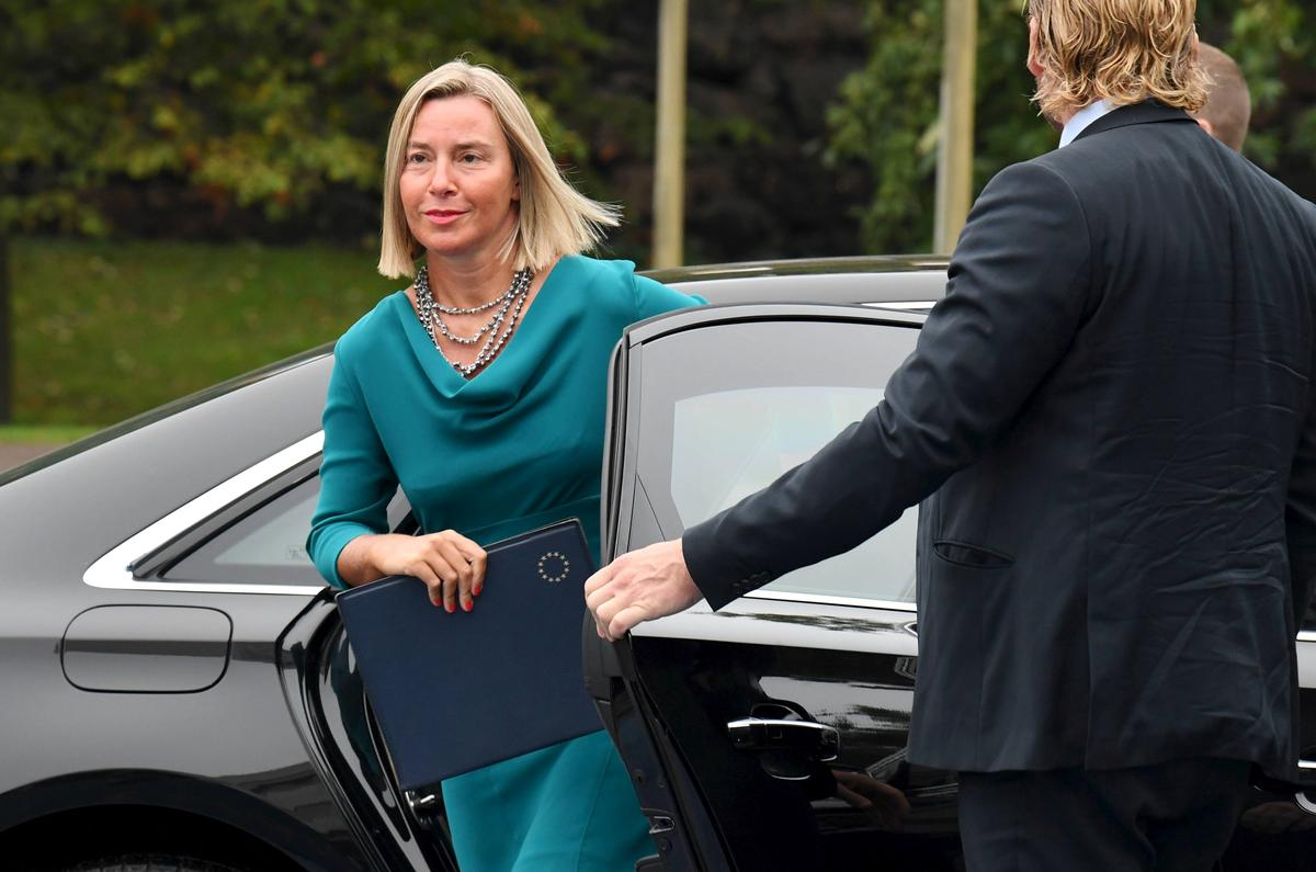 EU sal aanhou werk om Iran se kernooreenkoms te bewaar: Mogherini
