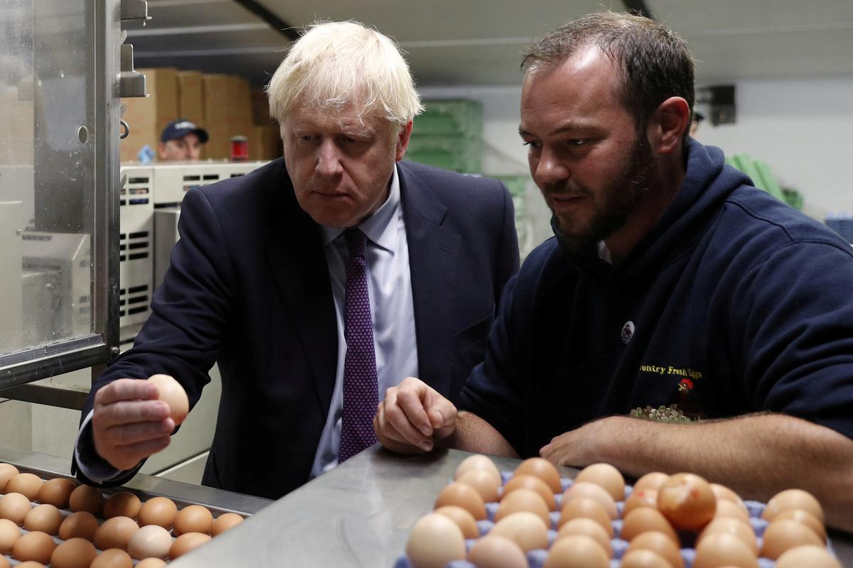 Britse boere vra vir invoertariewe vir landbouprodukte in geen Brexit-transaksie nie