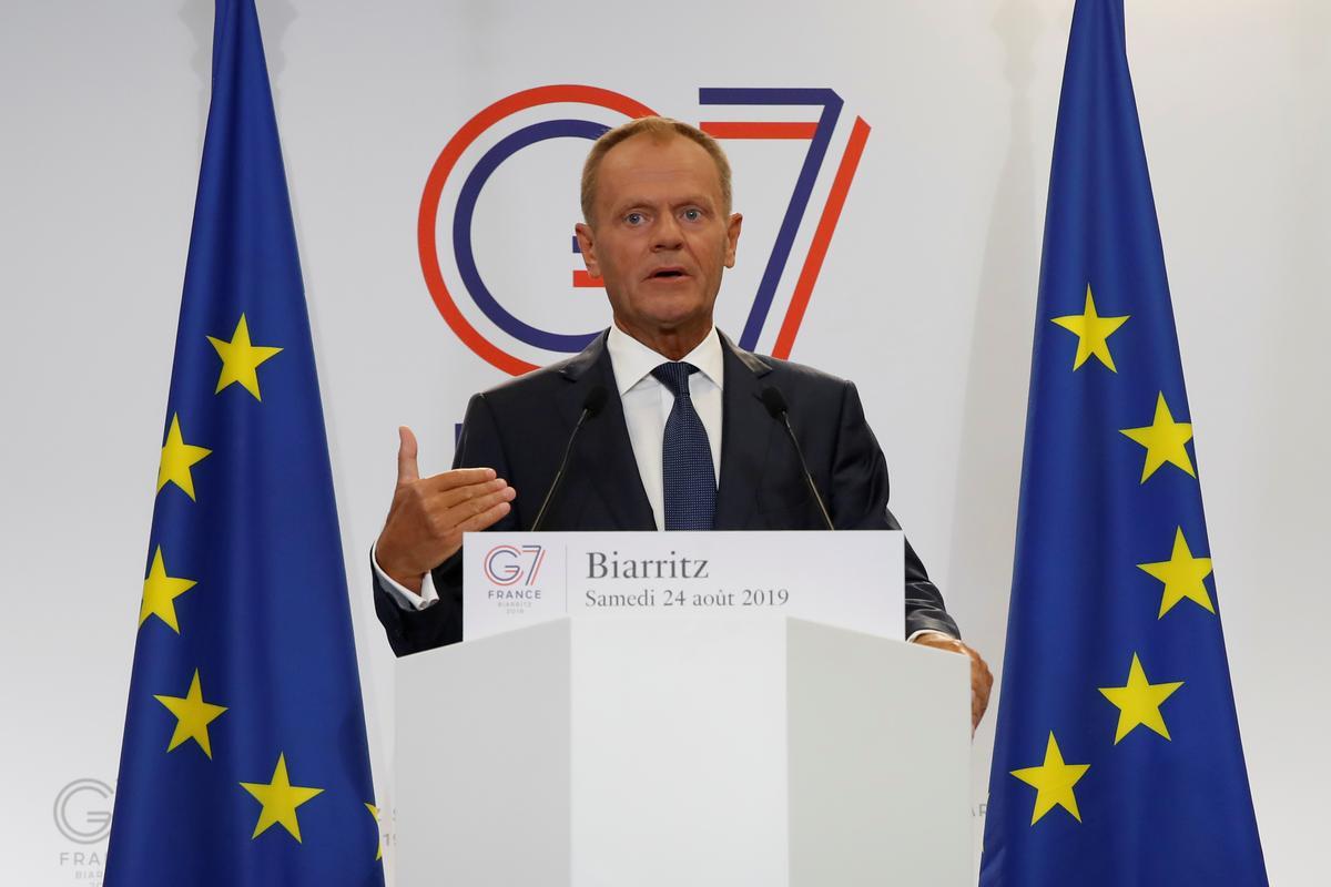 Tusk: Binnelandse politiek kan Brittanje uit die EU verdryf