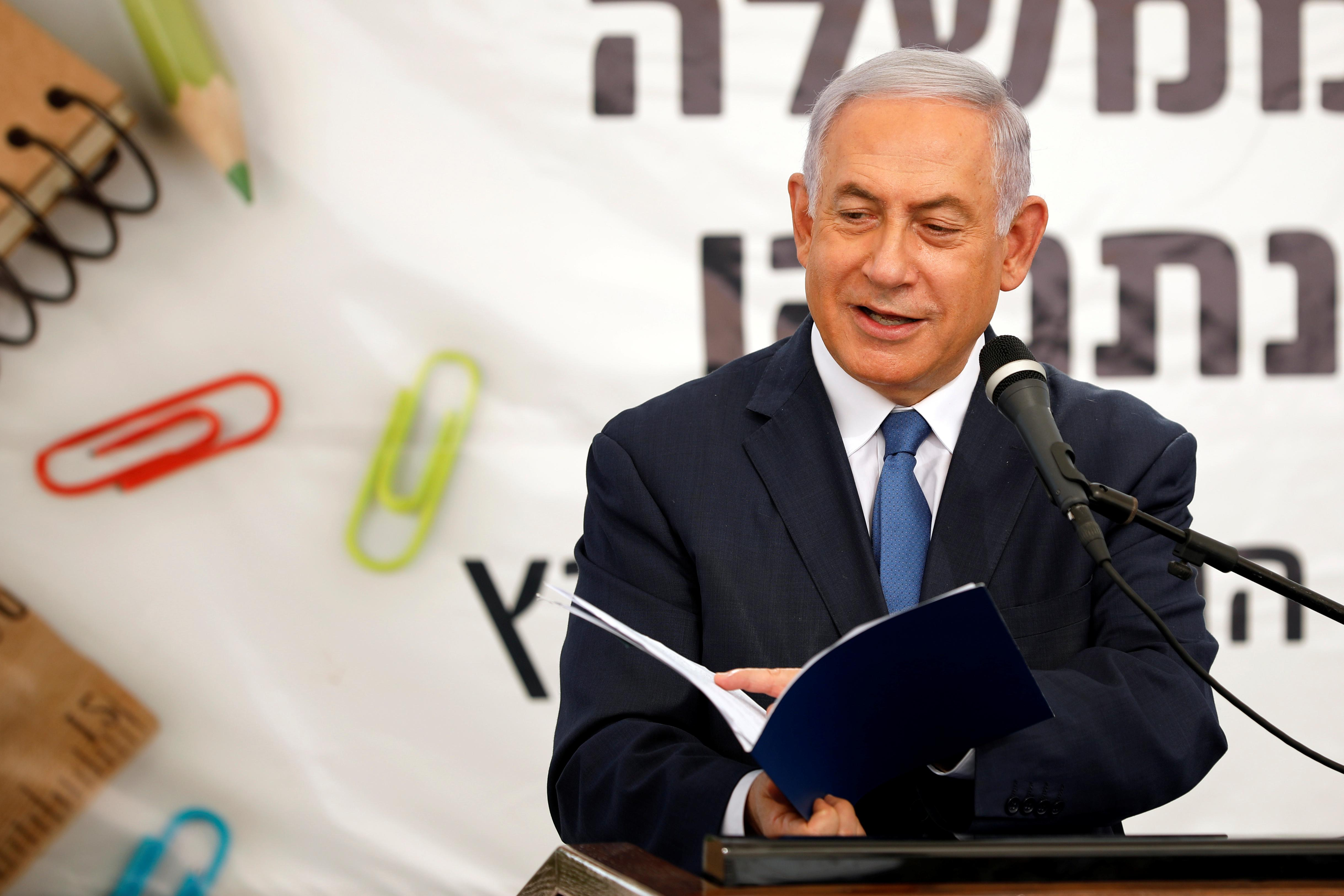 Netanyahu repeats pledge to annex Israeli settlements in occupied...