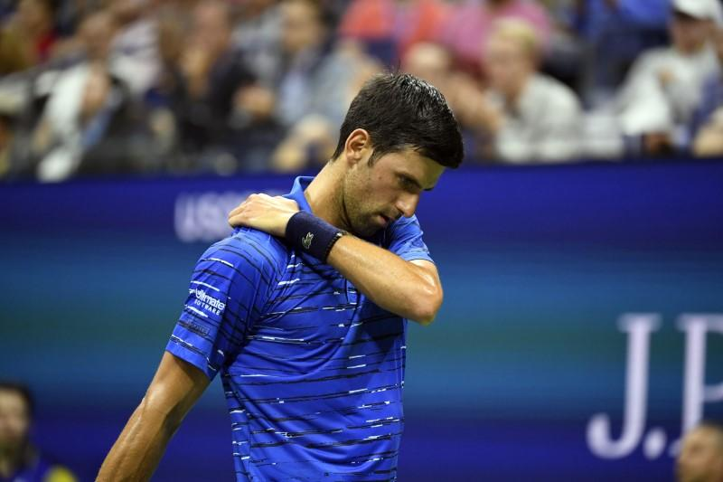 Djokovic's U.S. Open title defence derailed by injury