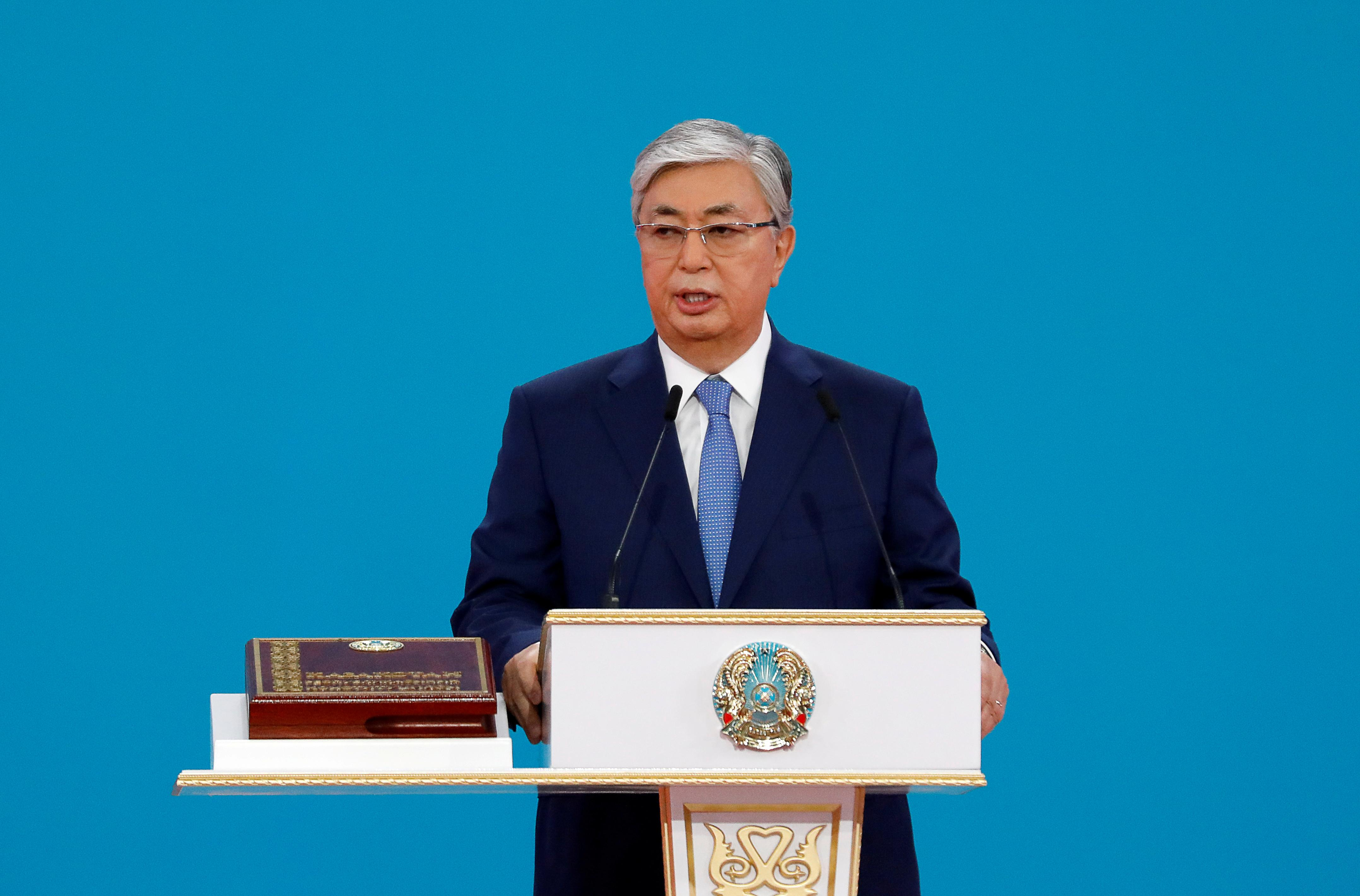 Kazakh president raps monetary policy ahead of key rate review