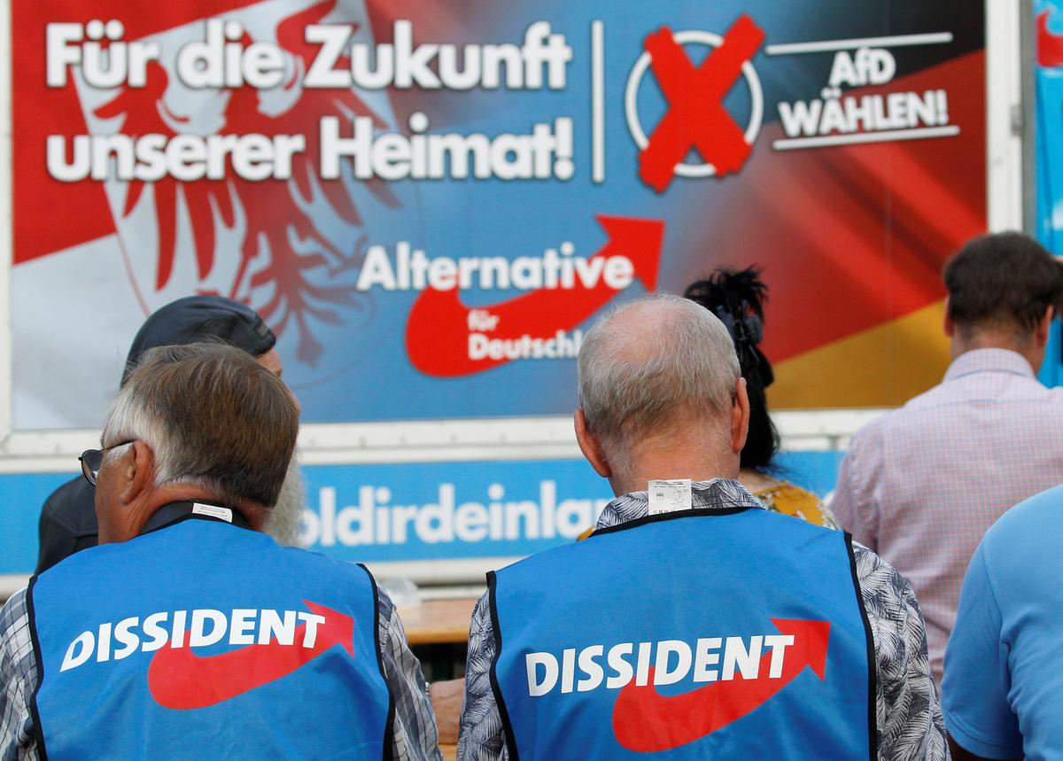 Buoyed by state votes, Germany's AfD takes aim at Merkel coalition
