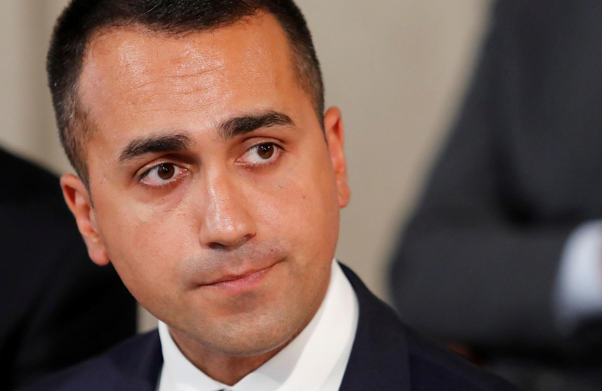 Italy's Di Maio to speak at 16:30 GMT after 5-Star online voting ends