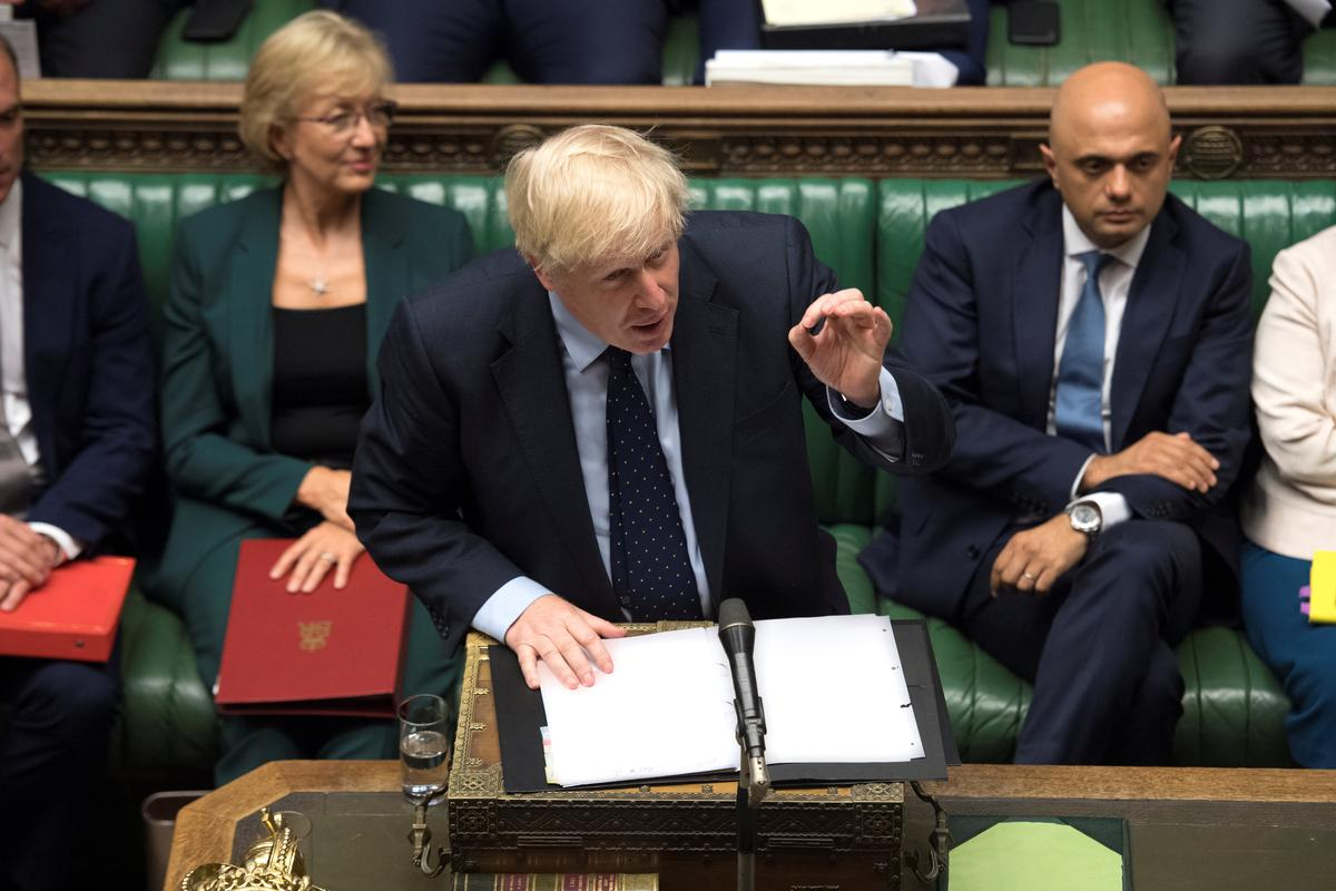 UK PM Johnson's statement after Brexit defeat in parliament