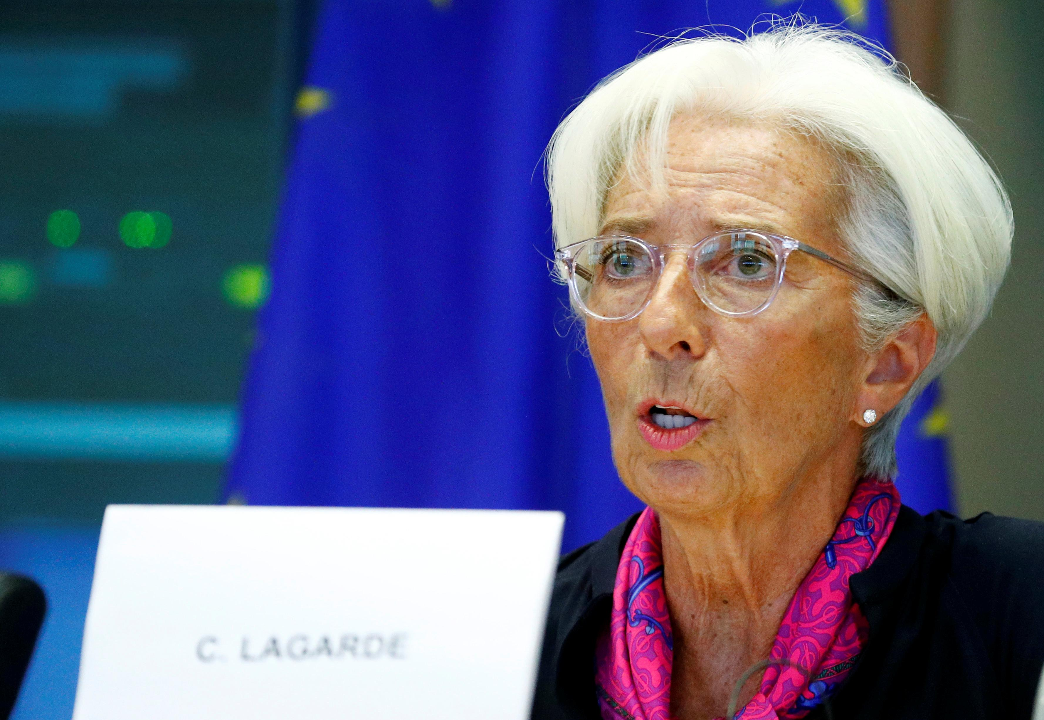 ECB needs policy review, should boost focus on climate change - Lagarde
