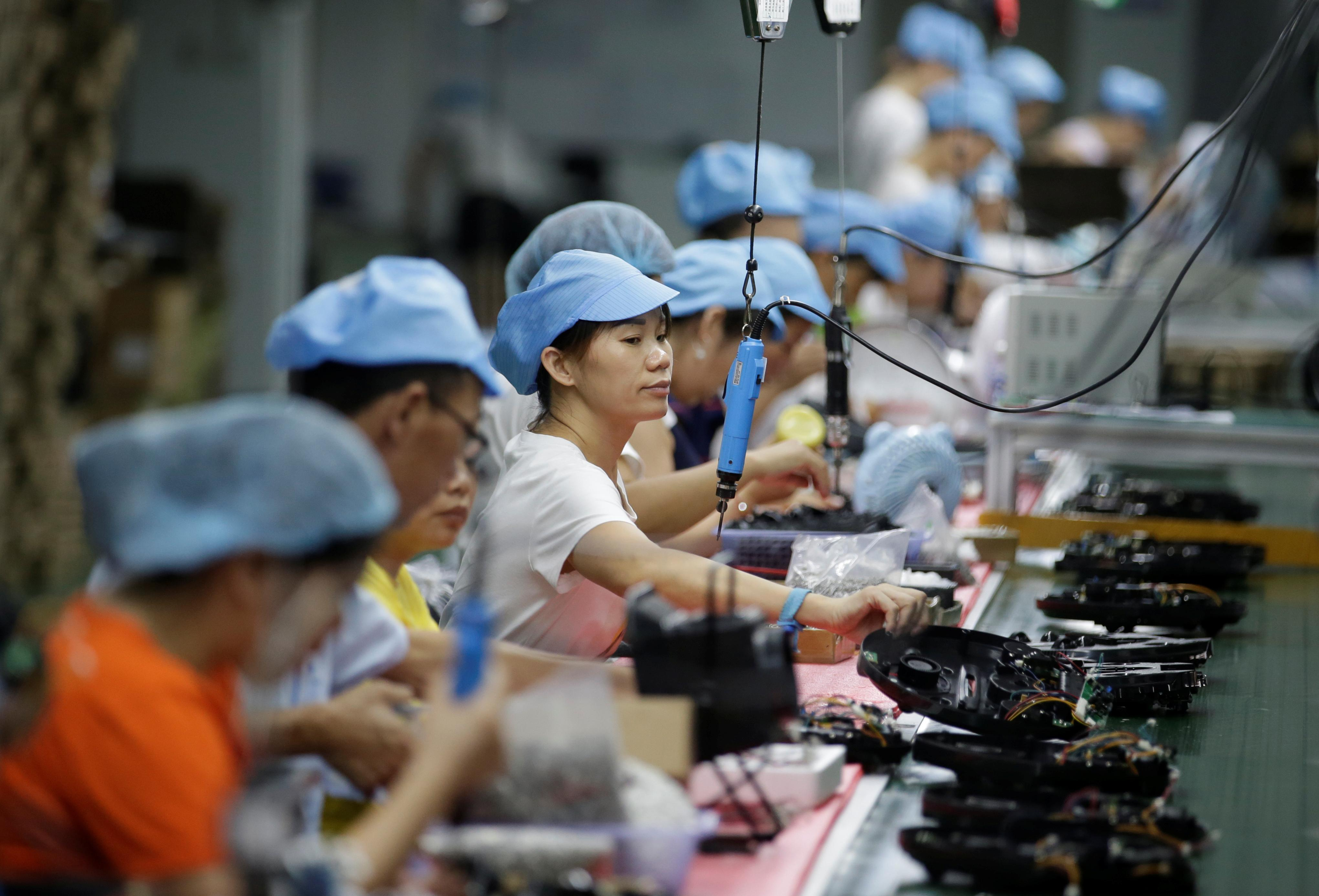 No place like home: Chinese firms stung by trade war build up...