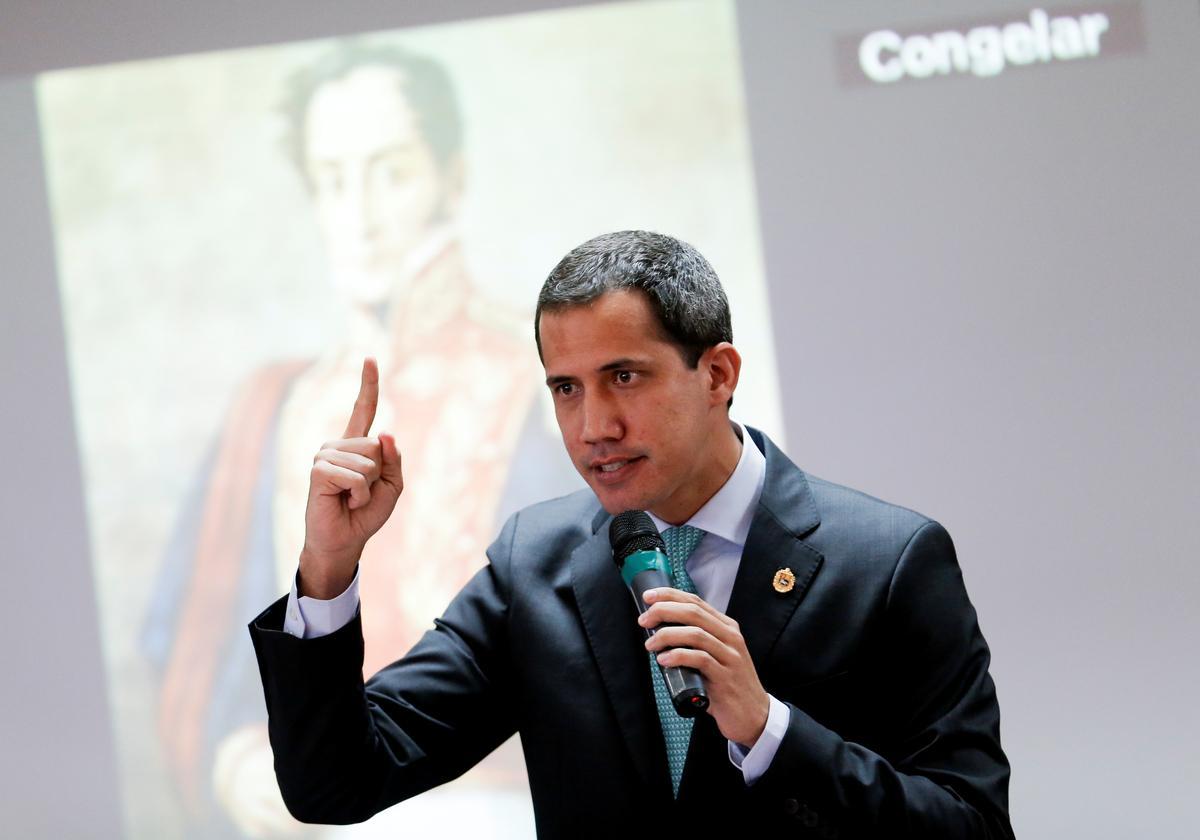 Opposisiepartye in Venezuela ondersteun Guaido as kongreshoof in 2020