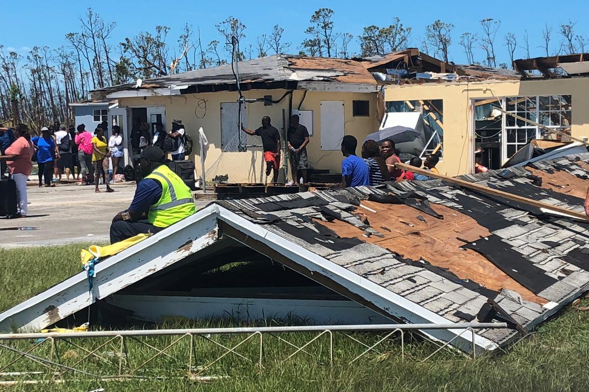 Die dodetal van die orkaan Doria in Bahamas styg tot 43: media