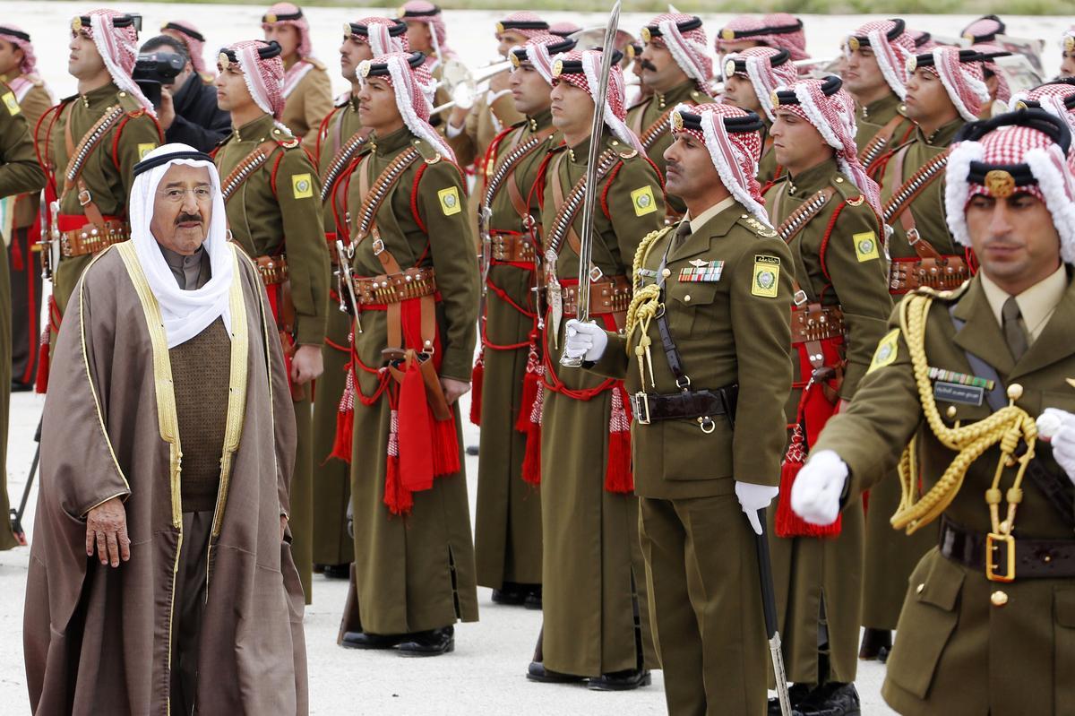 Die leier van Koeweit in die Amerikaanse hospitaal vir toetse, stel Trump se vergadering uit