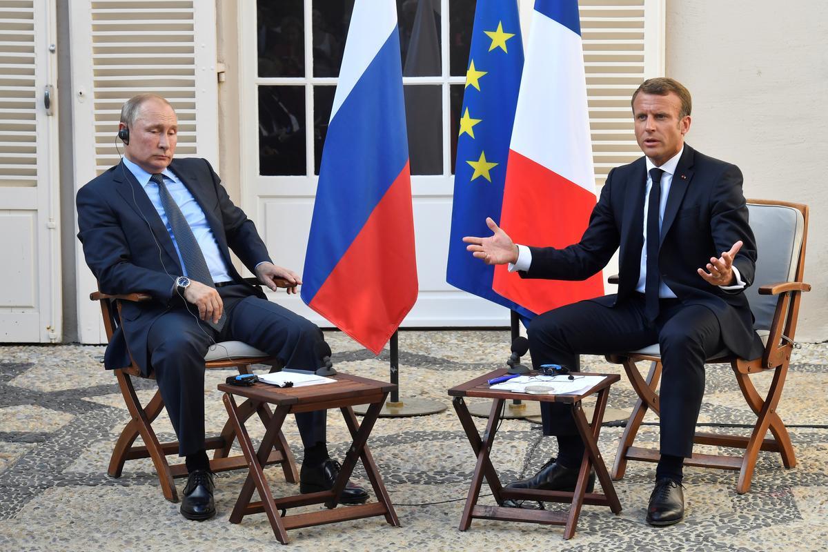 Macron, Poetin het die Oekraïne, Iran telefonies bespreek