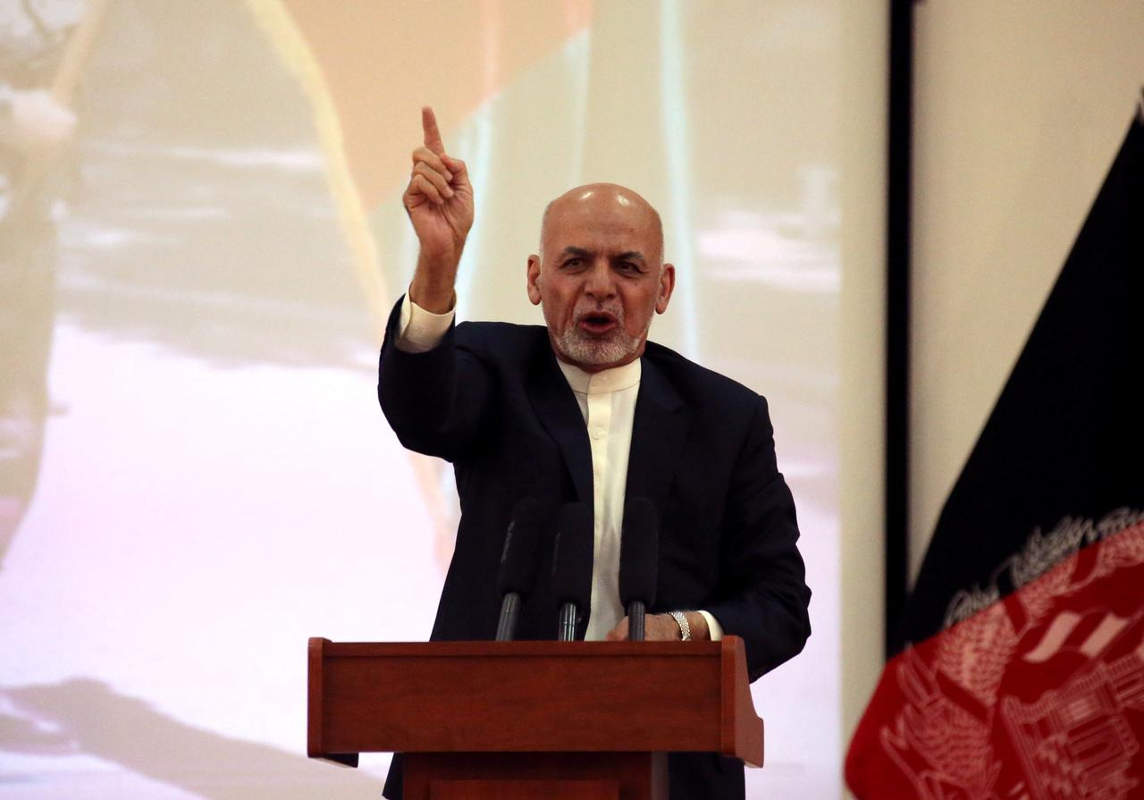 Afghan president renews calls for peace, demands ceasefire