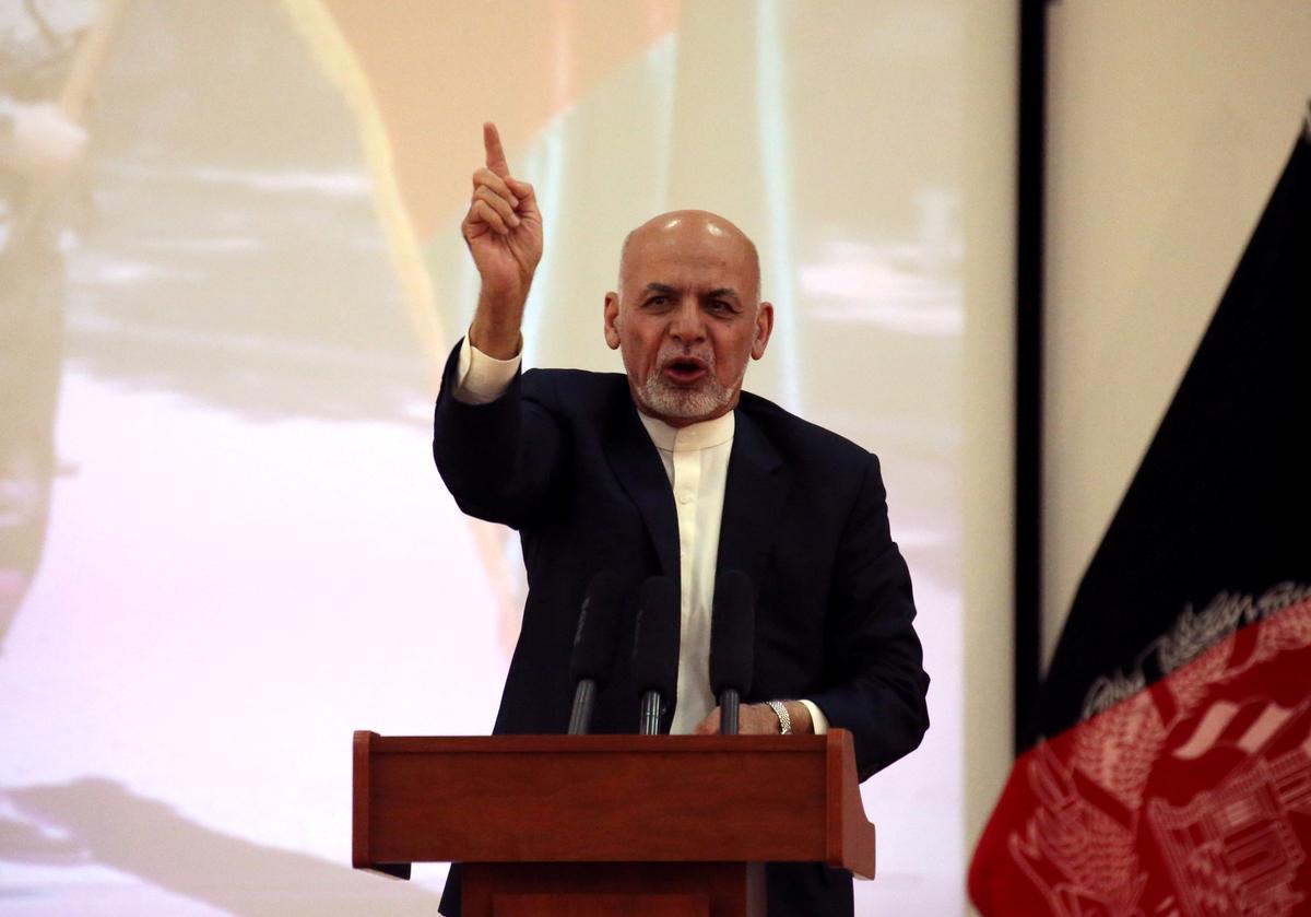 Afgaanse president hernu oproepe om vrede en eis wapenstilstand
