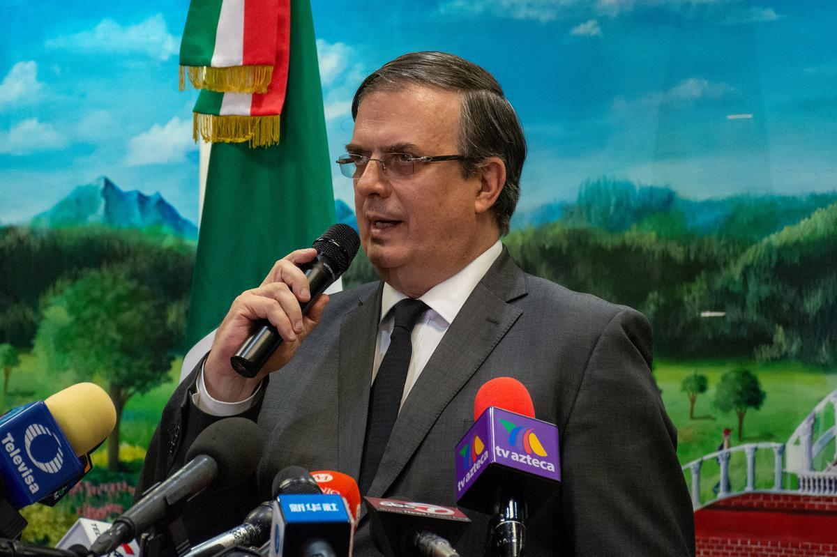 Mexiko sal nie 'n veilige derde land wees vir asielsoekers nie: Ebrard