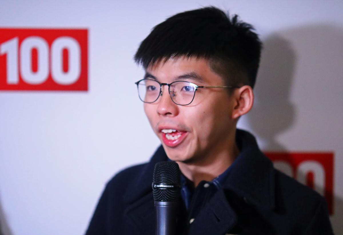 My stad is die nuwe Koue Oorlog se Berlyn: die Hong Kong-aktivis Joshua Wong