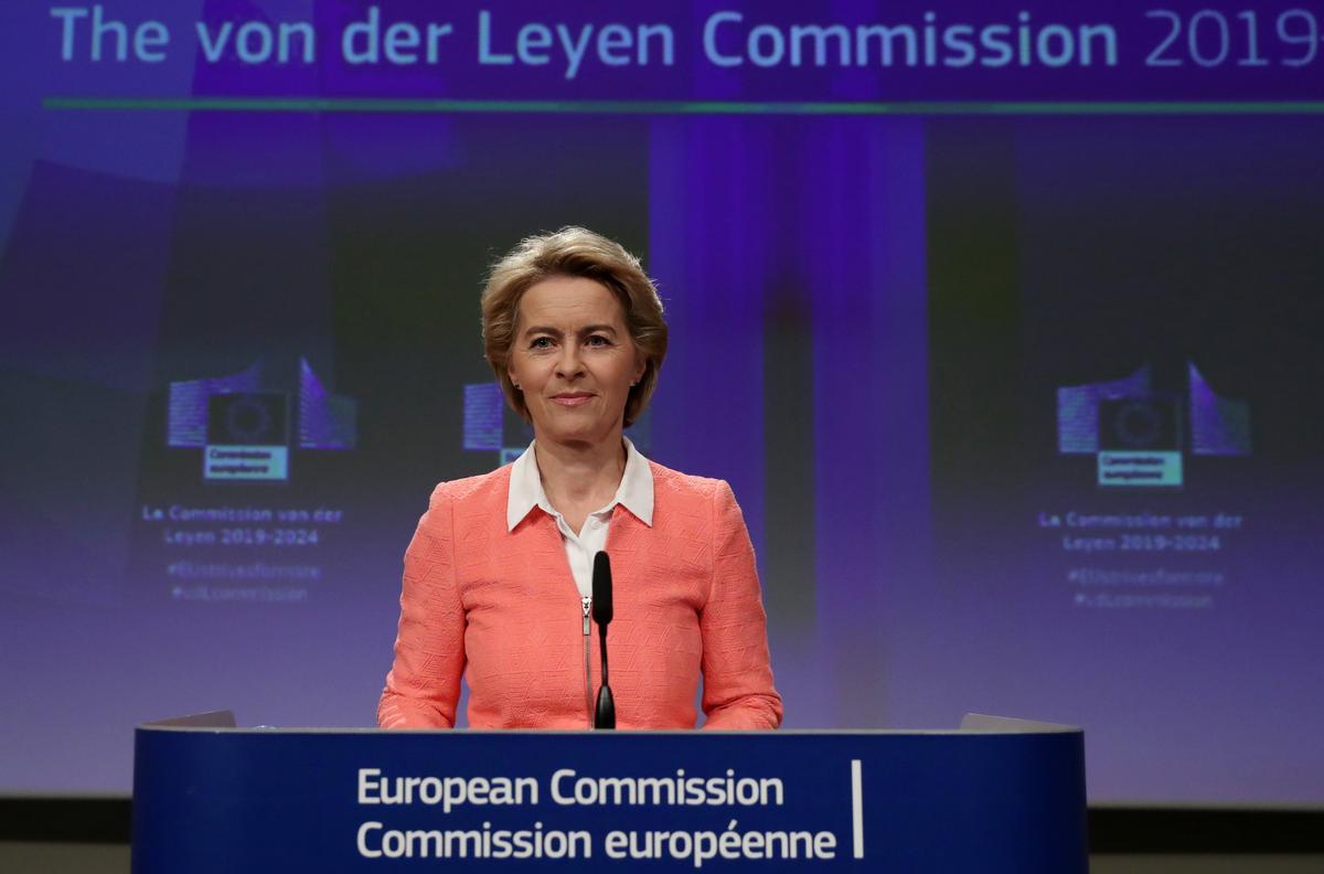 EU-uitvoerende beampte bevestig geslagsbalans in die nuwe Kommissie