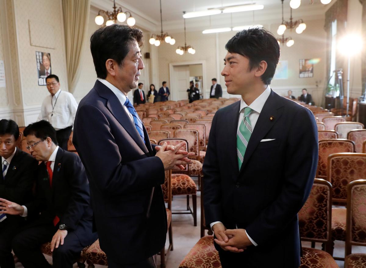 Seun van die voormalige premier van Japan, Koizumi, word as minister van omgewingsake benoem: NHK