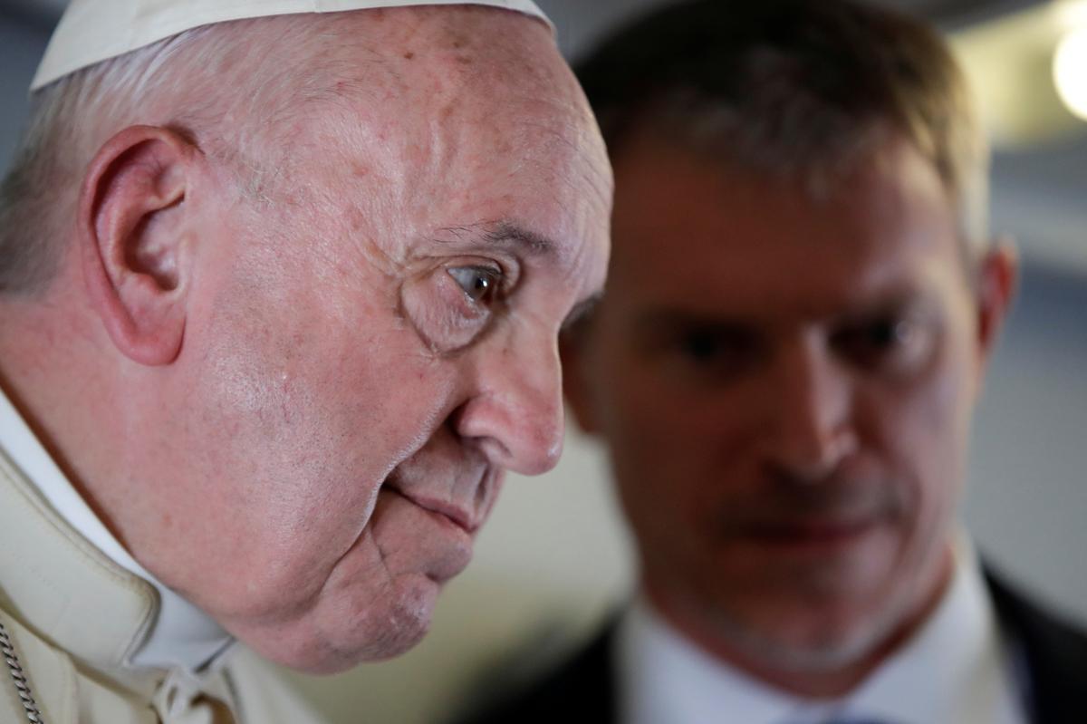 Pope sê dat hy bid dat die VS-geleide skisme in die wiele gery kan word