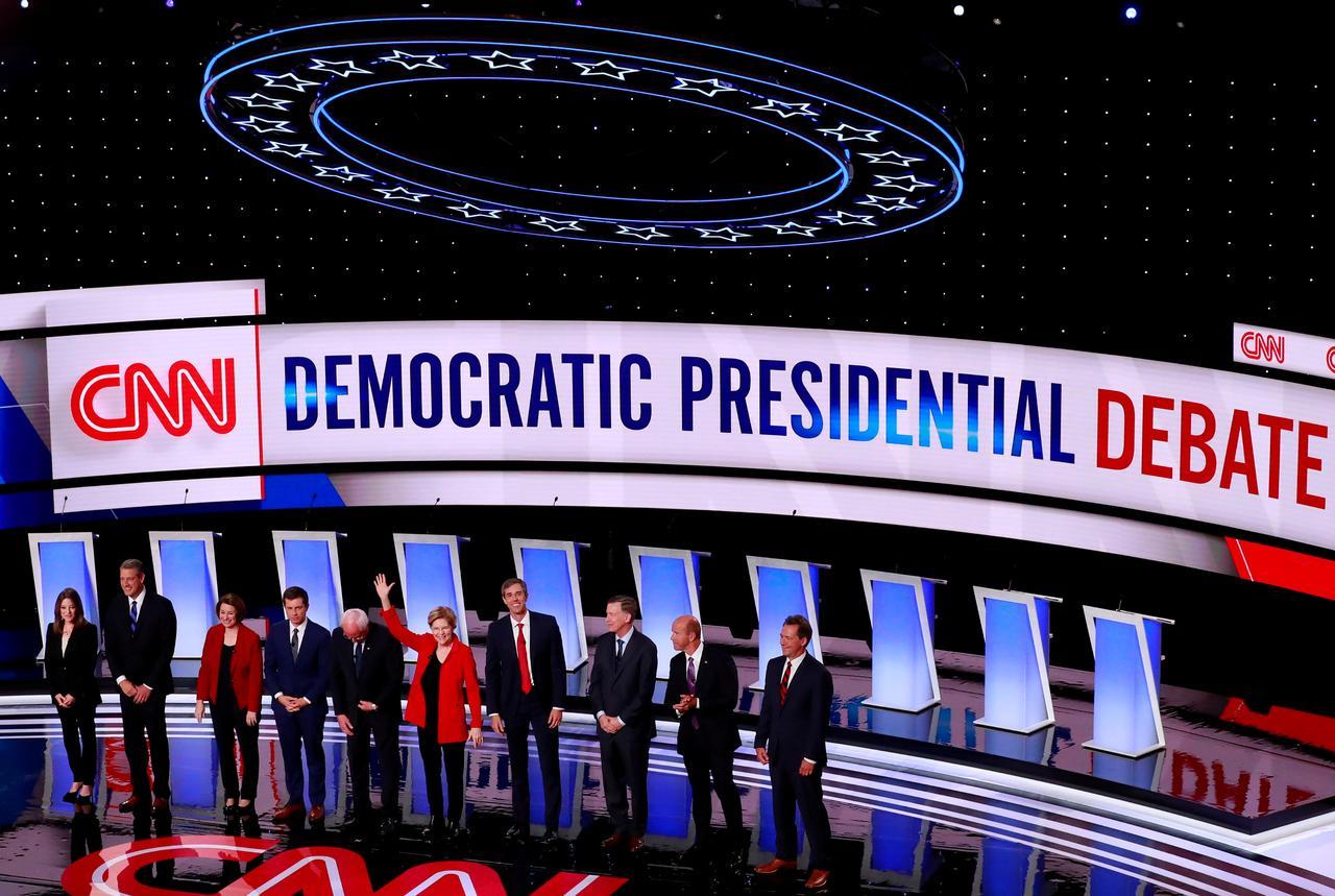 As Democratic White House hopefuls debate in Houston, party
