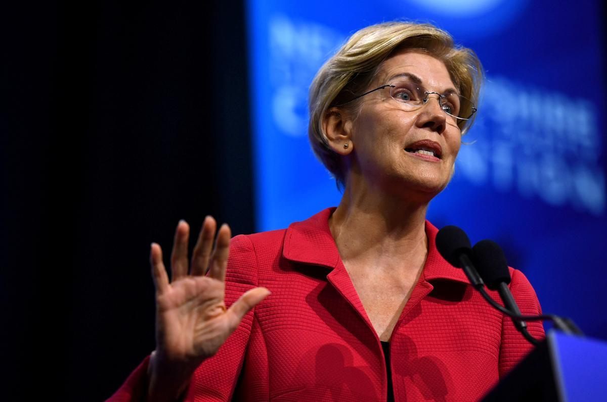 Warren rises as solid Democratic option behind Biden, Sanders:...