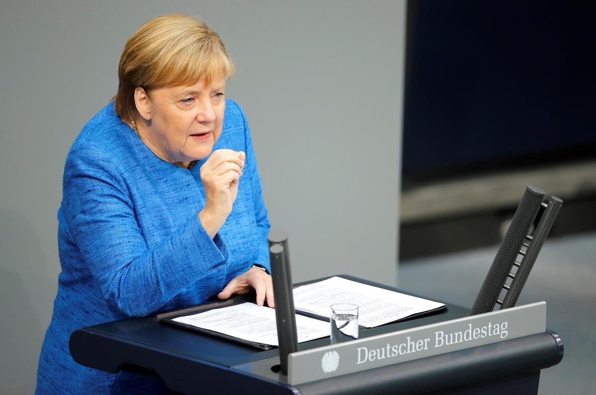 Duitse Merkel sien steeds 'elke kans' vir ordelik Brexit
