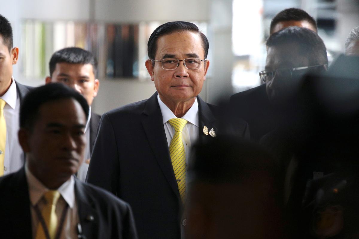 Die Thai-hof sal nie uitspraak lewer oor die eed van die Eerste Minister om grondwetlike plig te laat nie