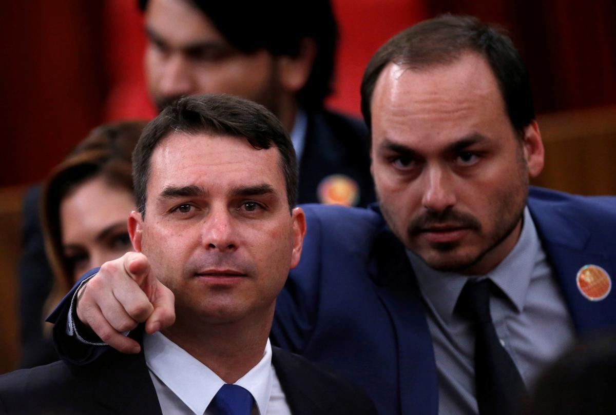 Nog een van die seuns van die president van Brasilië wat die siviele, kriminele ondersoek in die gesig staar: aanklaers