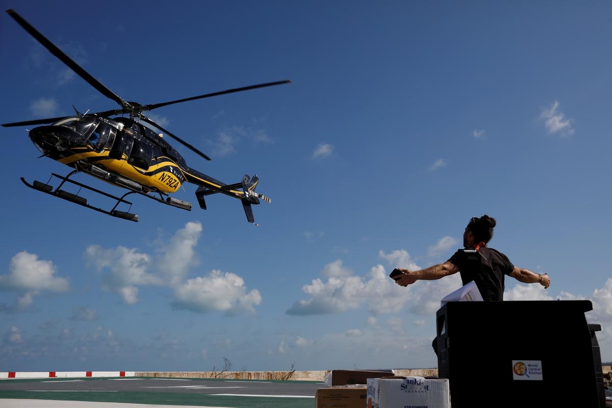 Tropical cyclone bears down on Bahamas, U.N. pledges aid