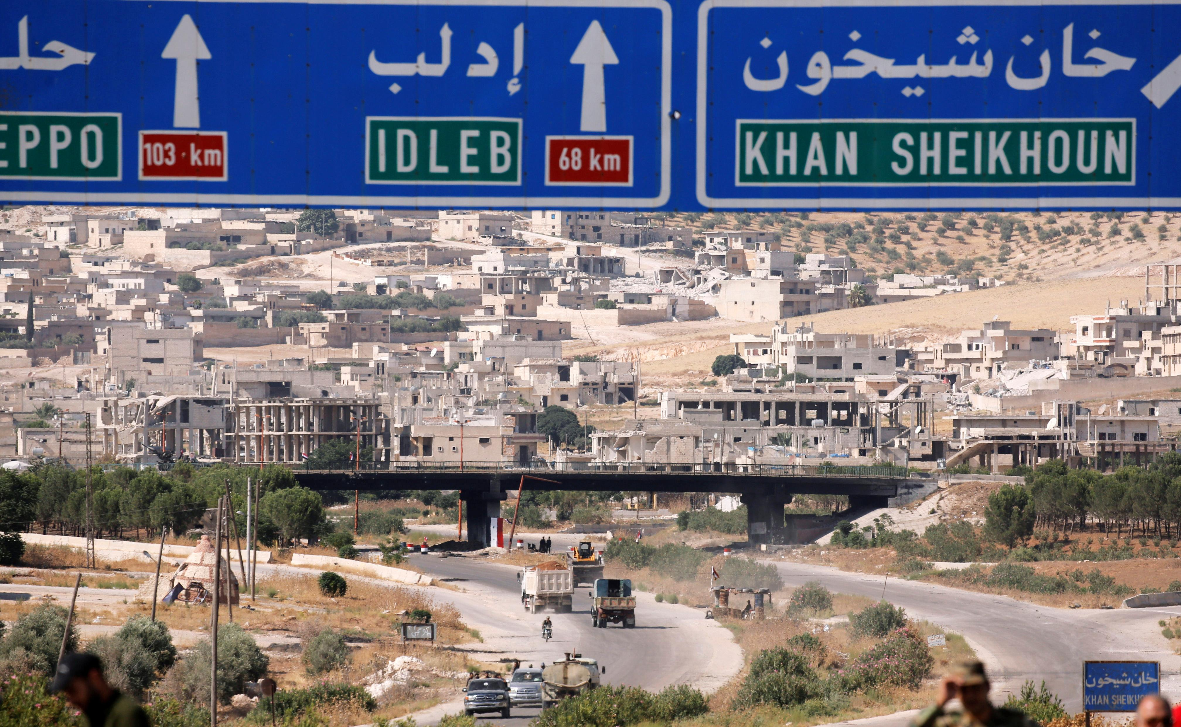 Russia, Iran and Turkey to discuss Syria's Idlib at Monday summit: Kremlin