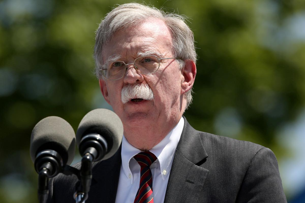 Former Trump national security adviser Bolton resumes political activities