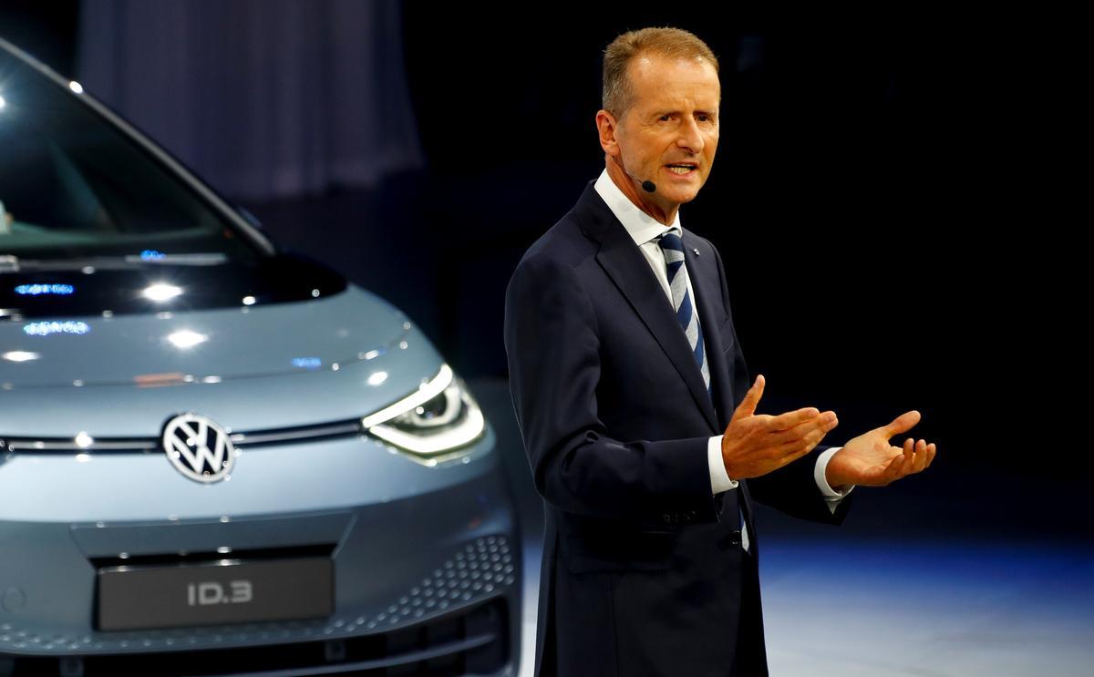 Die uitvoerende hoof van VW verskuif die strategie van die opbou van ryk na doeltreffendheid