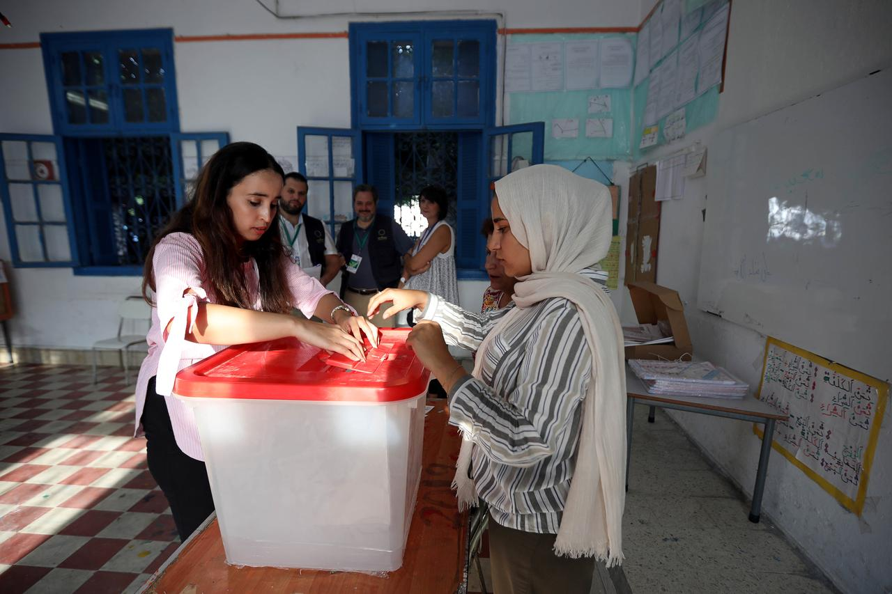 Image result for TUNISIA PRESIDENTIAL ELECTION TUNISIANS CAST THEIR BALLOT