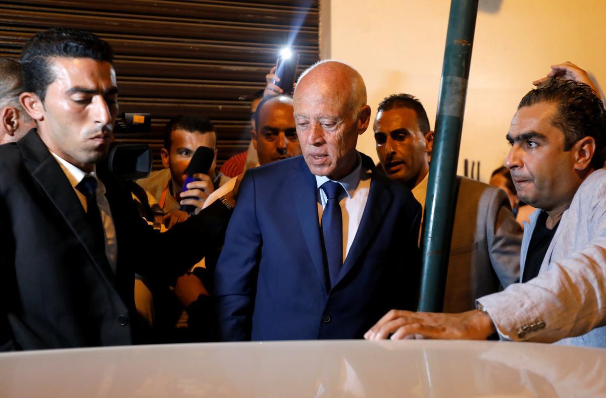Tunisiese politieke nuwelinge sê dat hulle presidensiële stemme lei