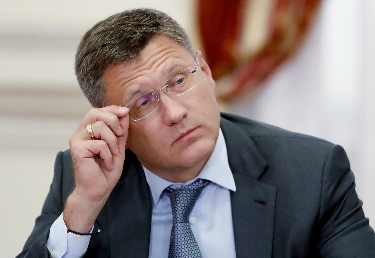 Russiese, Saoedi-minister van energie het Maandag 'n oproep: Novak van Rusland